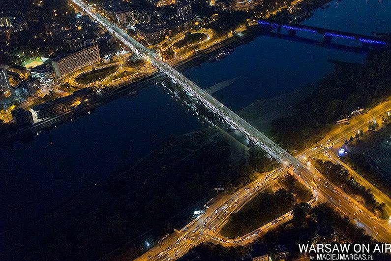 Zdjęcie numer 16 w galerii - Warszawa z lotu ptaka. Niesamowite zdjęcia Macieja Margasa [FOTO/WIDEO]