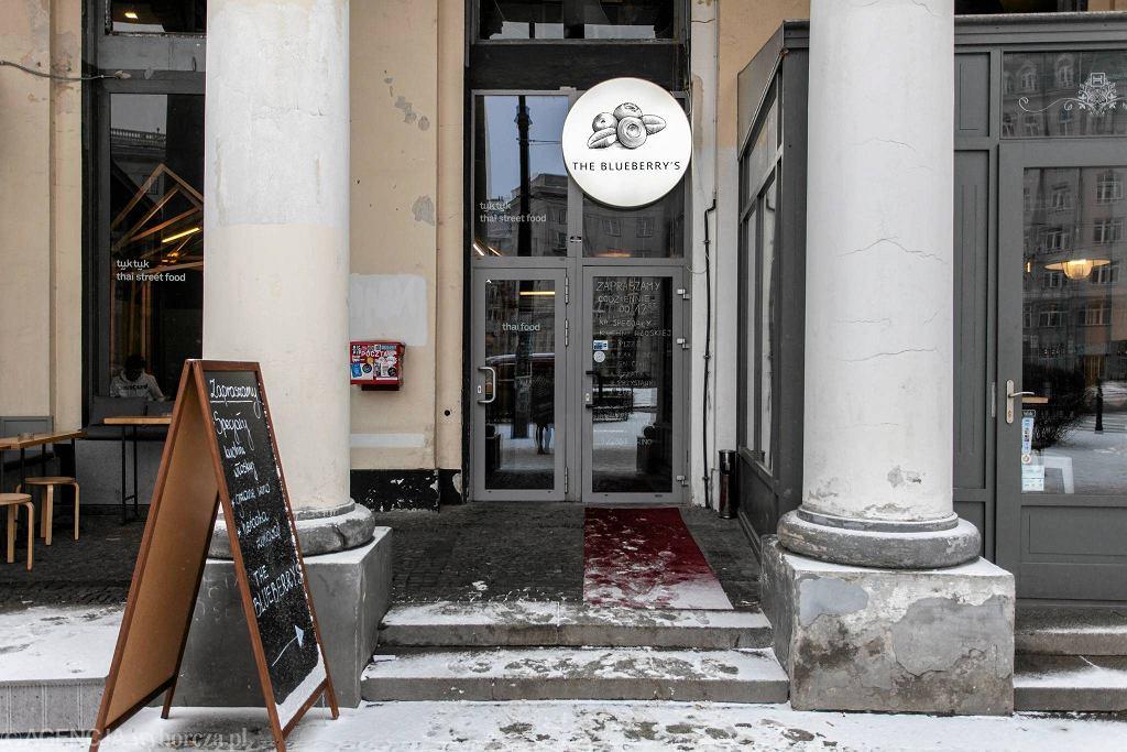 / Restauracja Blueberry's '/Fot. Dawid Żuchowicz