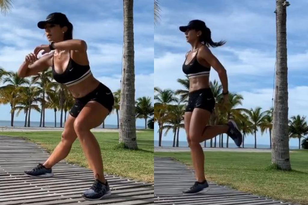 Mariela Bravo - trening