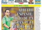 Brazylia - Kolumbia. Kolumbijska gazeta atakuje sędziego: Ty skur**** z Hiszpanii