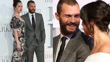 Dakota Johnson, Jamie Dornan, Amelia Warner