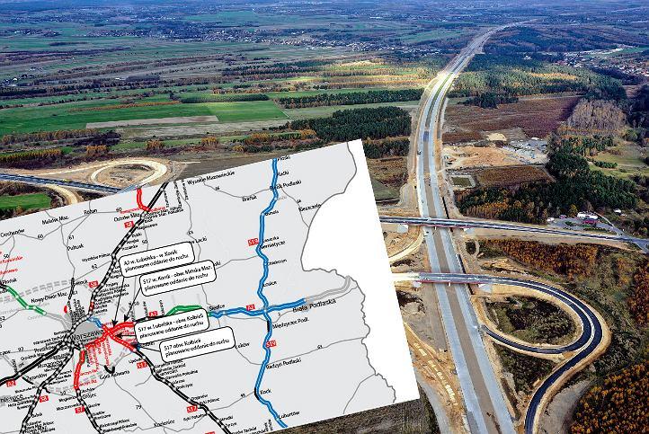 GDDKiA planuje oddać w 2020 r. prawie 117 km nowych dróg.