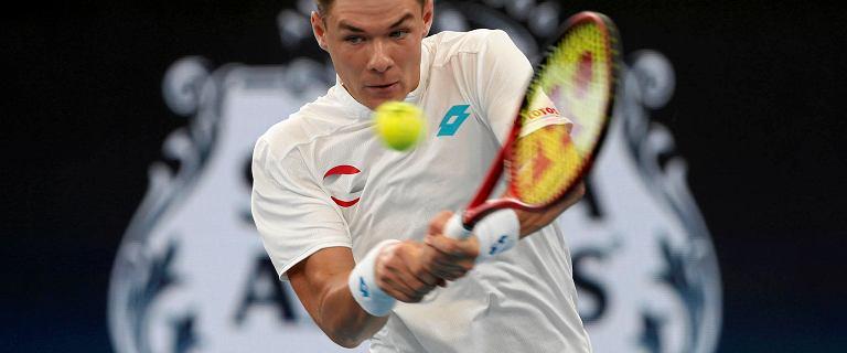 Polski tenisista błyskawicznie pokonał faworyta! Może trafić na Hurkacza