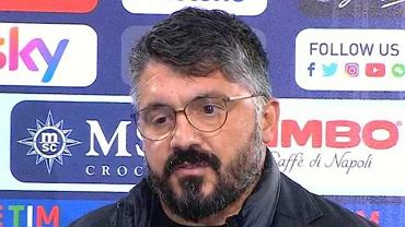 Gennaro Gattuso przed kamerami Sky Sport Italia