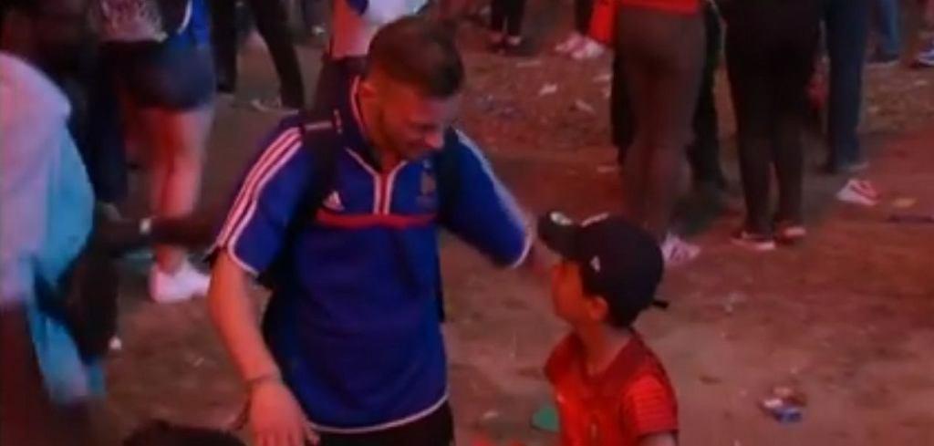 Wzruszająca scena po zakończeniu finału Portugalia
