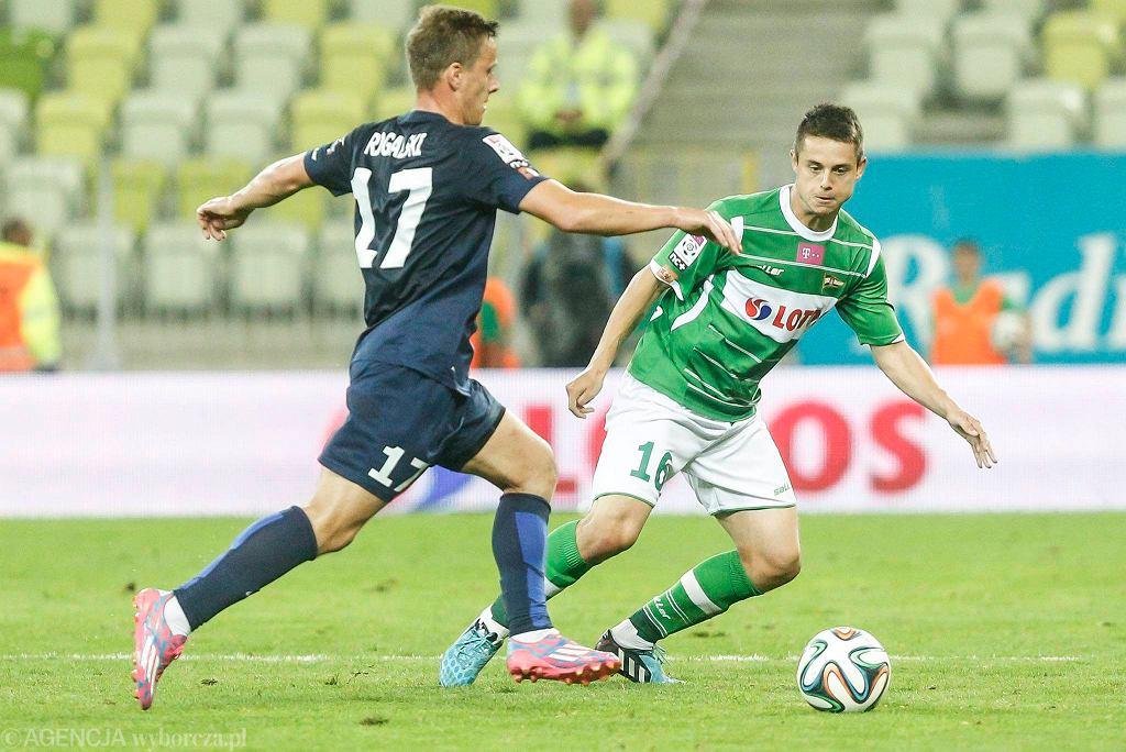 Lechia Gdańsk - Pogoń Szczecin 0:1. Ariel Borysiuk