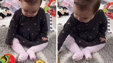 Mama tej dziewczynki udowadnia, że zabawki bywają zbyteczne.