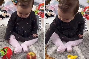 Mama pokazała, czym bawi się jej dziecko. Pieniądze na zabawki to niepotrzebny wydatek