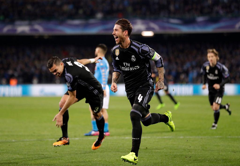 Mecz Ligi Mistrzów, Napoli - Real