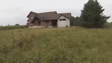 Wnętrze 'nawiedzonego' domu w pobliżu Ostrołęki