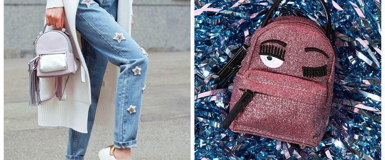 12 stylowych małych plecaków, które będziemy chciały nosić na okrągło. Sprawdzą się latem i wczesną wiosną ze stylizacjami w klimacie lat 90.!
