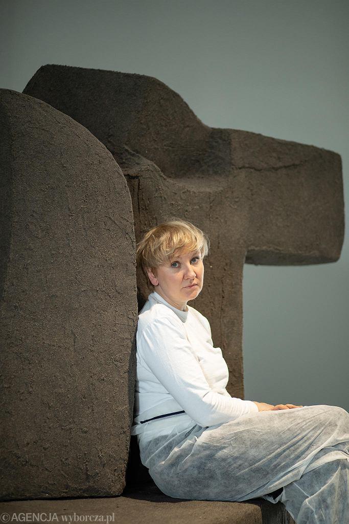 Maria Loboda w Centrum Sztuki Współczesnej Zamek Ujazdowski / DAWID ZUCHOWICZ