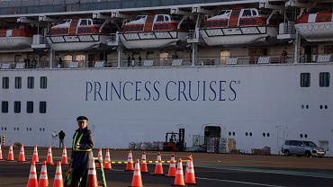 Koronawirus na pokładzie Diamond Princess