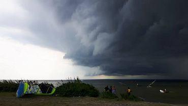 Burza na Półwyspie Helskim