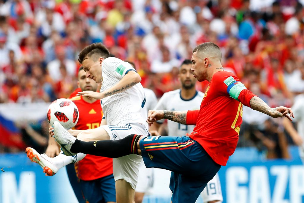 Mecz Hiszpania - Rosja