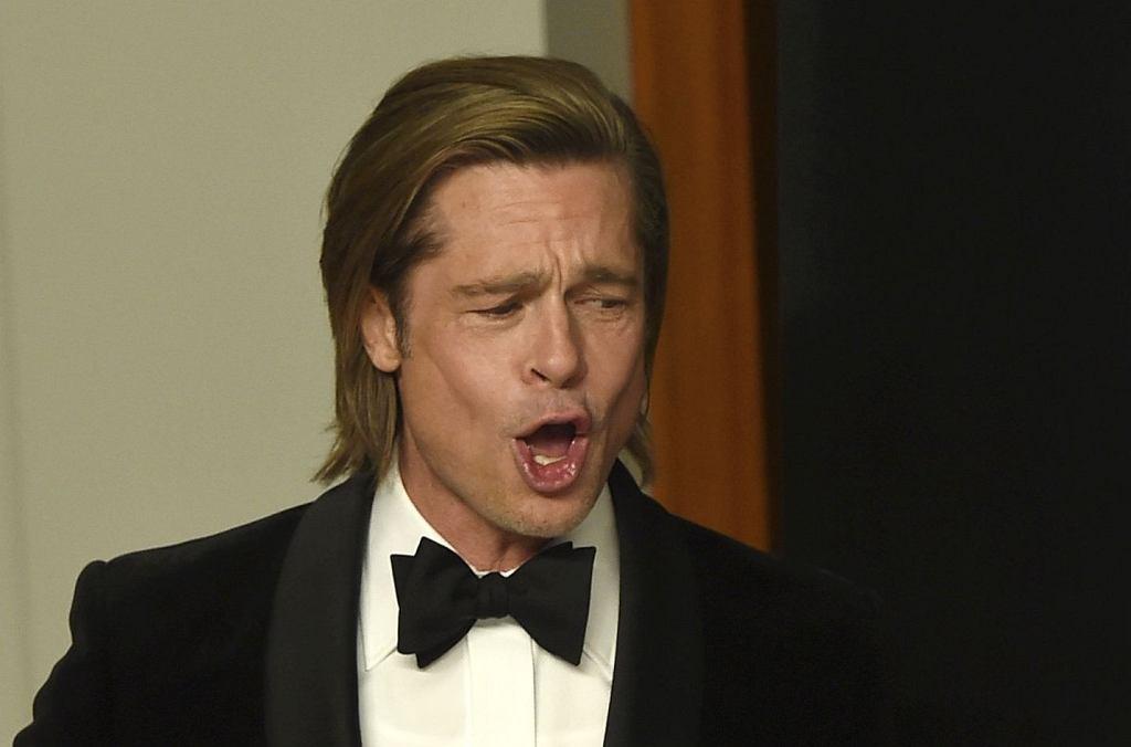 Brad Pitt na 92. ceremonii wręczenia Oscarów