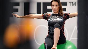 Katarzyna Glinka - trening w ciąży