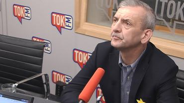 Sławomir Broniarz w studiu TOK FM