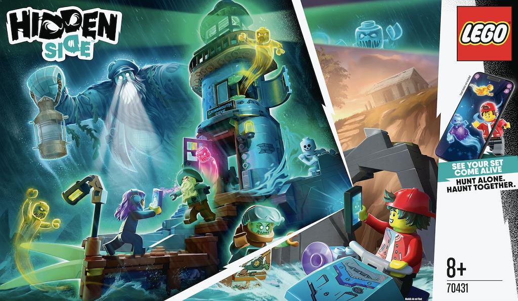 LEGO Hidden Side - niezwykłe połączenie zestawu konstrukcyjnego z zabawką techniczną oraz grą