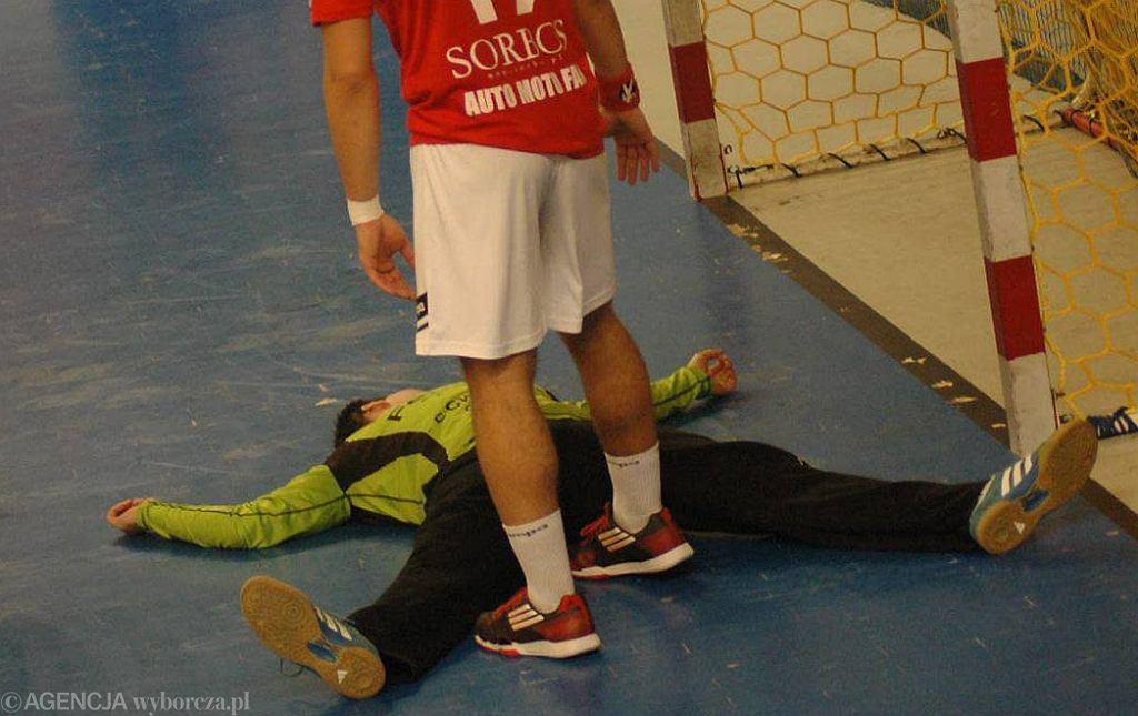 Kamil Buchcic na kilka sekund stracił przytomność