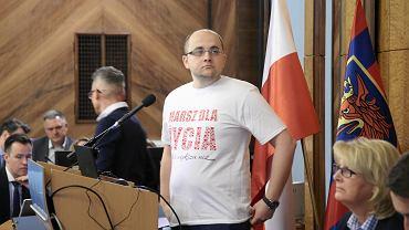Radny PiS Dariusz Matecki