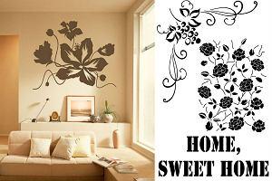 Szablony malarskie - stwórz dekorację, która zastąpi tapetę i naklejki