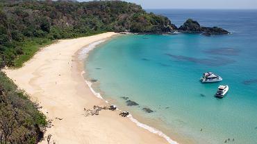 Baia do Sancho w Brazylii, zwycięska plaża
