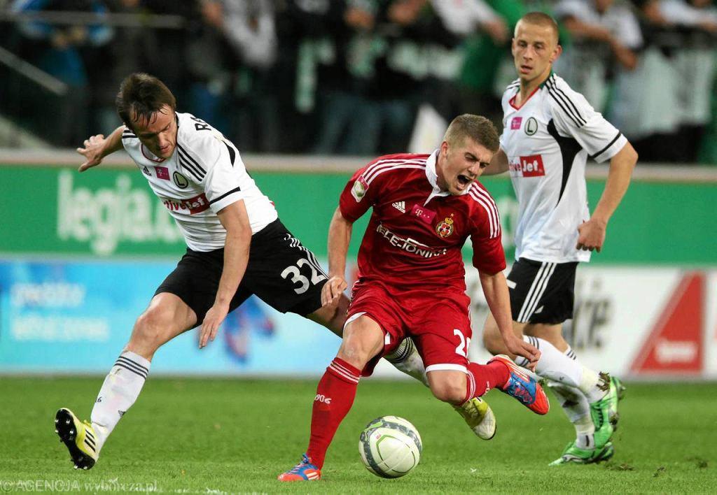 Legia pokonała Wisłę Kraków 2:1
