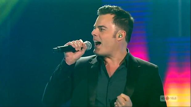 Marc Martel - 'Somebody to Love' for Céline Dion