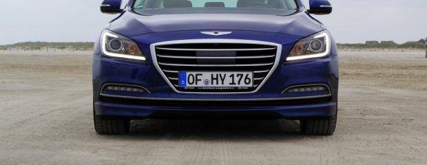 Hyundai Genesis   Pierwsza jazda   Demonstracja możliwości