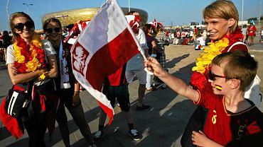Hiszpańscy kibice w Gdańsku podczas Euro 2012
