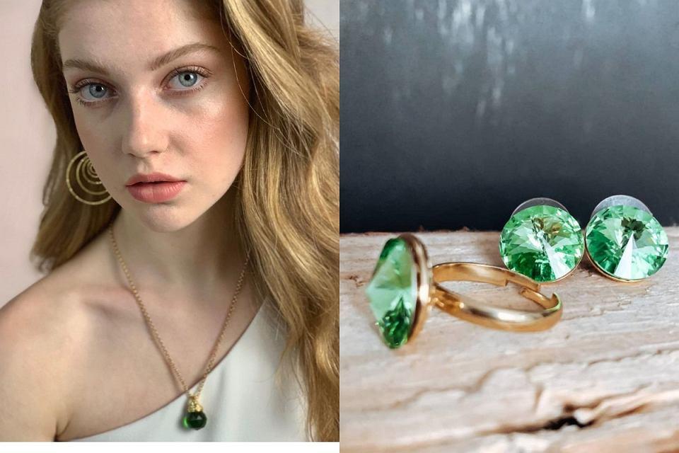 Biżuteria z kryształami Swarovskiego
