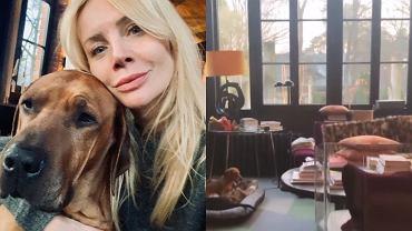Agnieszka Woźniak-Starak pokazała swój dom. Salon robi wrażenie, ale spójrzcie tylko na garderobę. Prawdziwy sztos