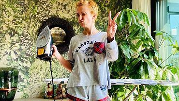 Katarzyna Zielińska pokazała łazienkę. Przypomina egzotyczną palmiarnię. Internauci są zachwyceni: Raj na ziemi