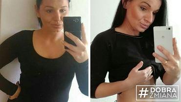 Kamila schudła 20 kg będąc na diecie tłuszczowej.