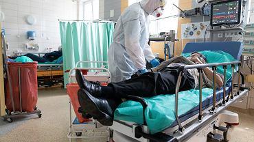 Medycy podczas pandemii. Zdj. ilustracyjne