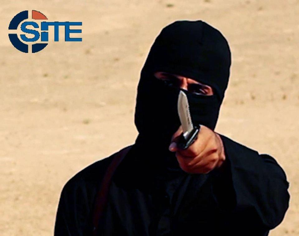 Jeden z terrorystów Państwa Islamskiego