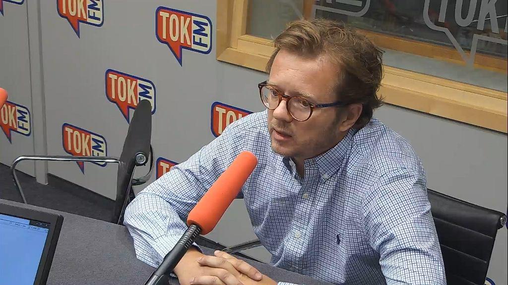 Mec. Michał Wawrykiewicz w TOK FM