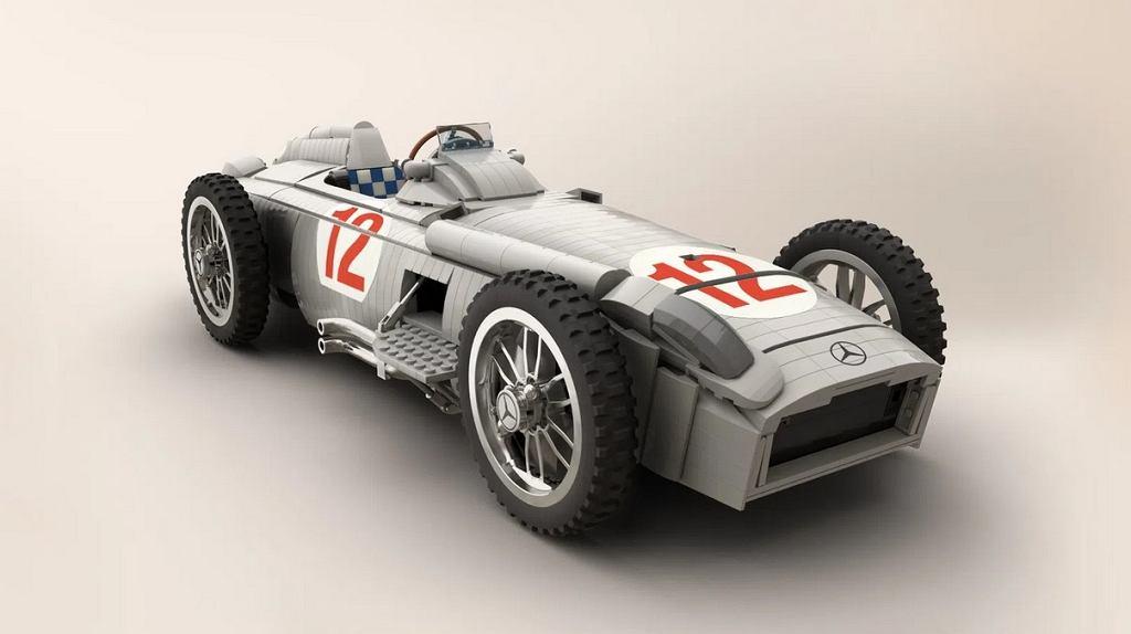 Mercedes W196R z Lego. Projekt Polaka, który może trafić do sklepów!