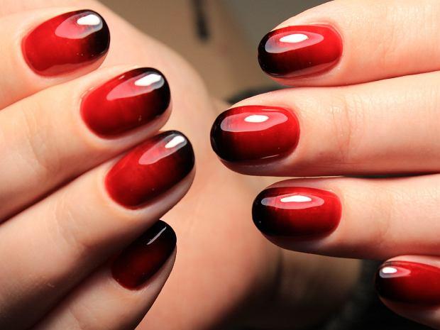 manicure ombre