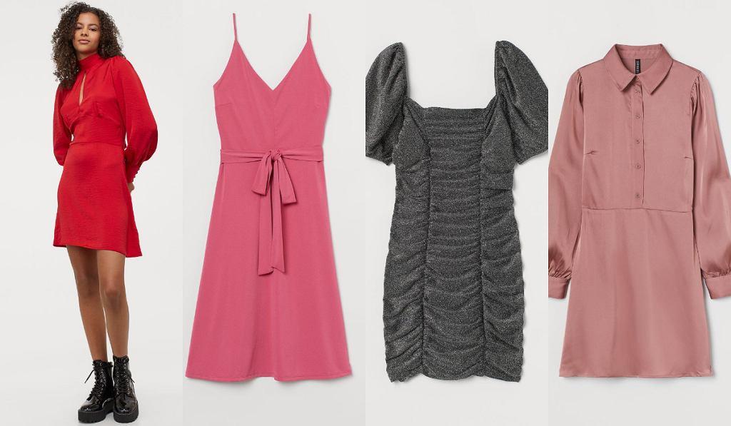 Eleganckie sukienki H&M wyprzedaż