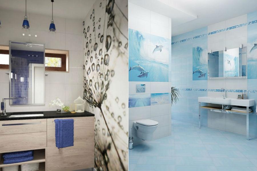 Łazienka dla wielbicieli morza