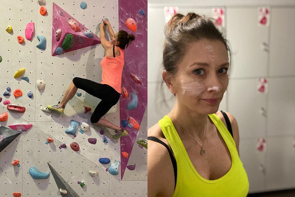 Anita Sokołowska wróciła na ściankę wspinaczkową
