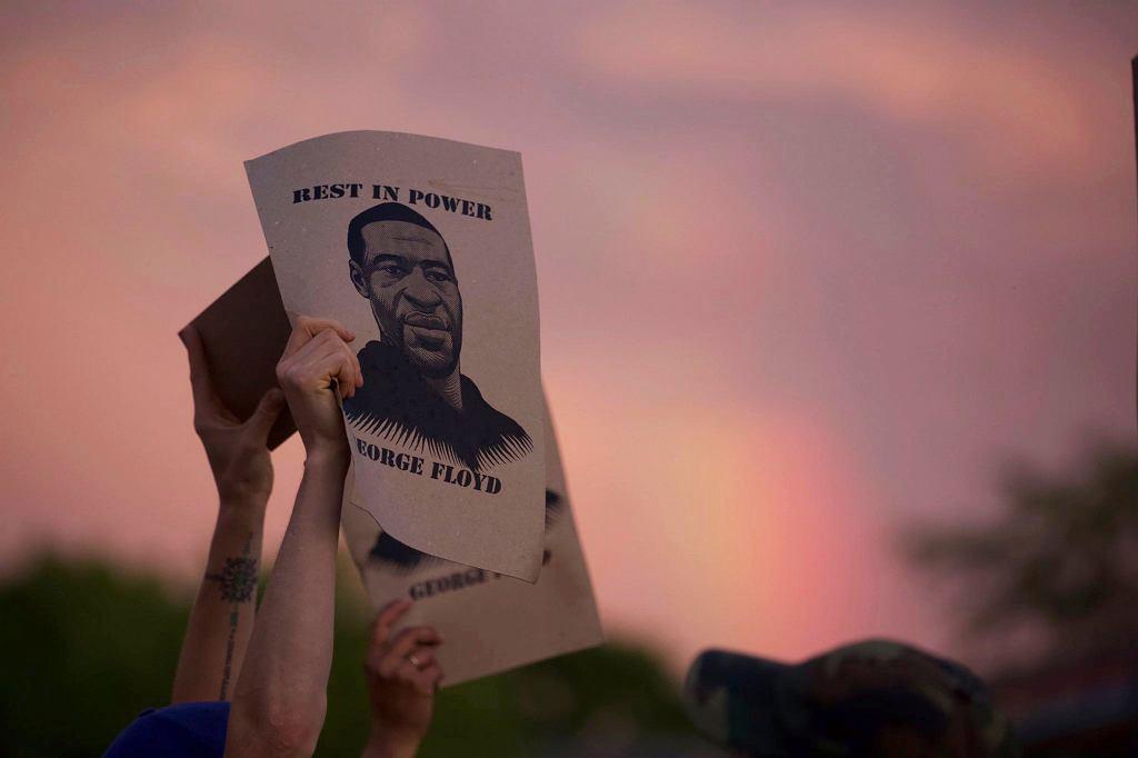 Protest związany ze śmiercią George'a Floyda