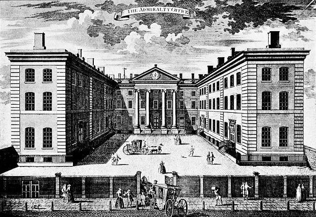 Ripley Building około 1760 roku