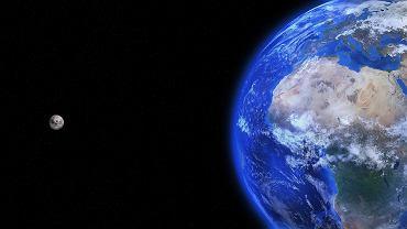 Ziemia z kosmosu - zdjęcie ilustracyjne