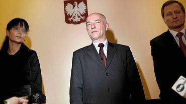 Byli prokuratorzy Anna H. i Zbigniew Niezgoda (z prawej) podczas narady z ówczesnym ministrem sprawiedliwości prof. Zbigniewem Ćwiąkalskim w Rzeszowie w 2008 r.