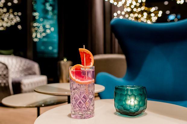Gin serwowany w Motelu One w Lipsku