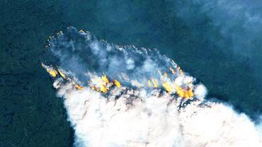Arktyka płonie