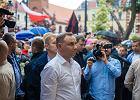 Proboszcz ze Starogardu Gdańskiego podczas wizyty Dudy wołał do tłumu: Zwyciężymy!